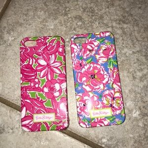 TWO Lilly Pulitzer iPhone 5/5s cases